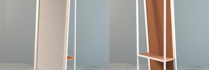 Espelho Cabideiro Nomade
