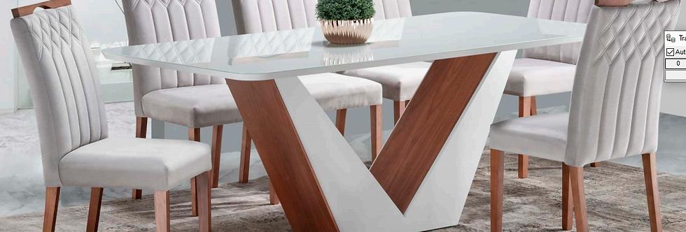 Mesa e cadeiras Menegaz Lia