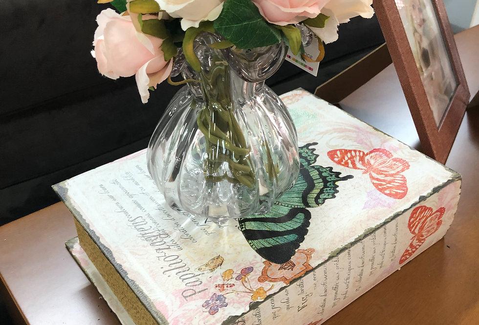 Vaso de Cristal Murano