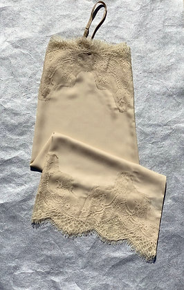 Cream Lace Slip