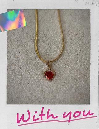 Preorder Queen Of My Heart Necklace