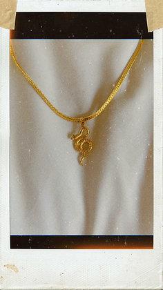 Snake Queen Necklace