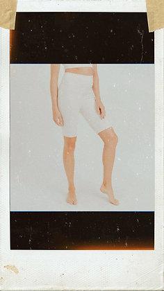 Cream Bermuda Leggings
