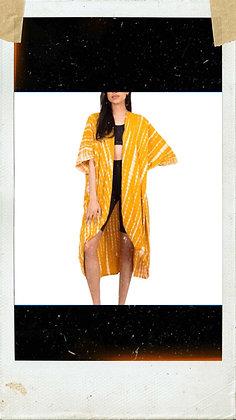 Yellow & White Kimono
