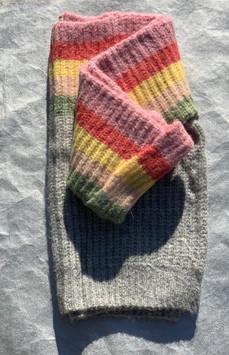 Oversized Rainbow Sweater