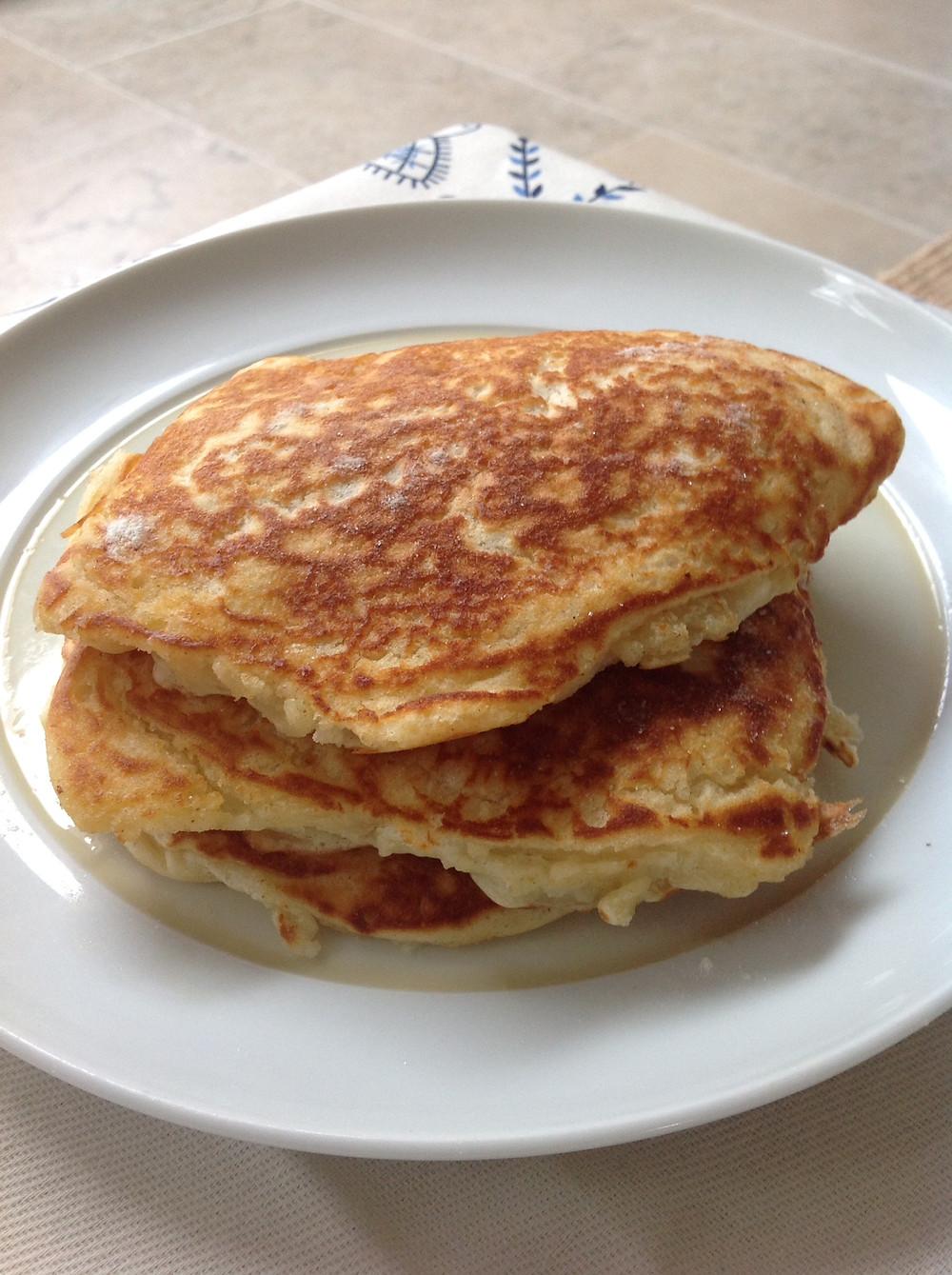 Bircher Muesli & Banana Pancakes
