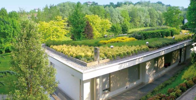 Con tetti verdi e giardini pensili casa più vivibile e risparmi del ...