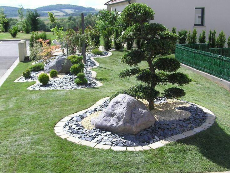 Giardini Moderni Con Sassi : Arredare il giardino con pietre e sassi progettazione e