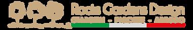 03a Rocks Gardens logo orizzontale con s