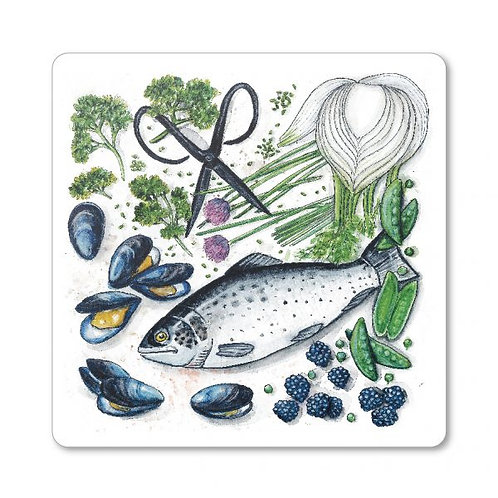 Maritimas trivet/cutting board