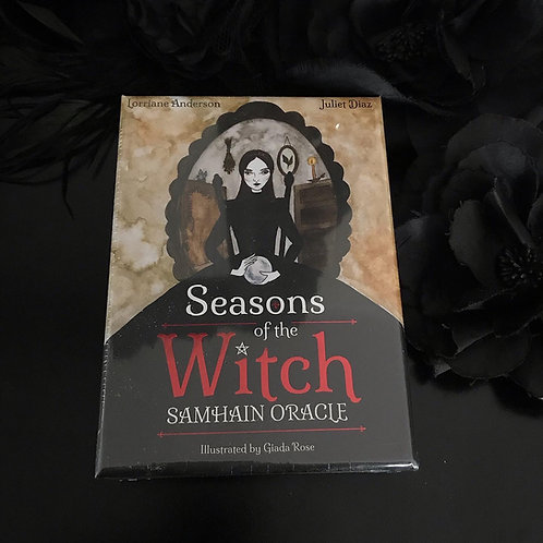 Seasons of the Witch Samhain Oracle Reading Cards