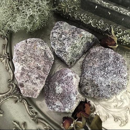 Natural Lepidolite Chunk 4-6cm