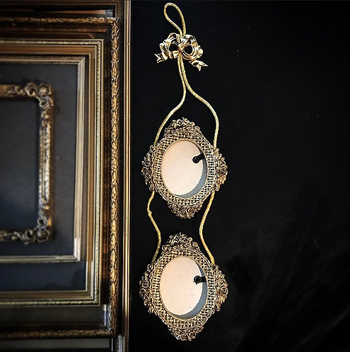 Two Tier Gold Ornate Frames