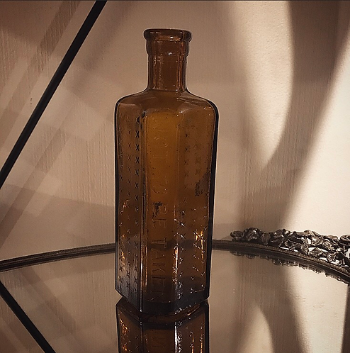 Antique Poison Bottle