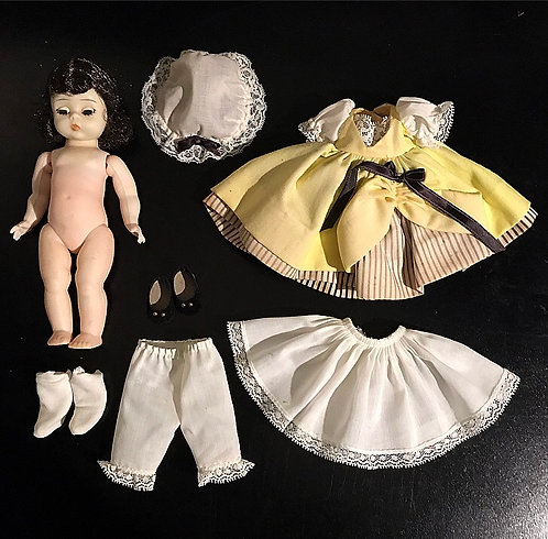 Madame Alexander 1950s French Doll