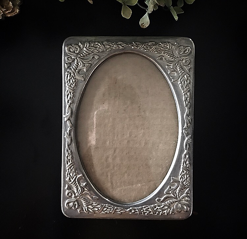Larger Silver Plated Frame