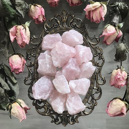Rose Quartz x1 Small Chunk