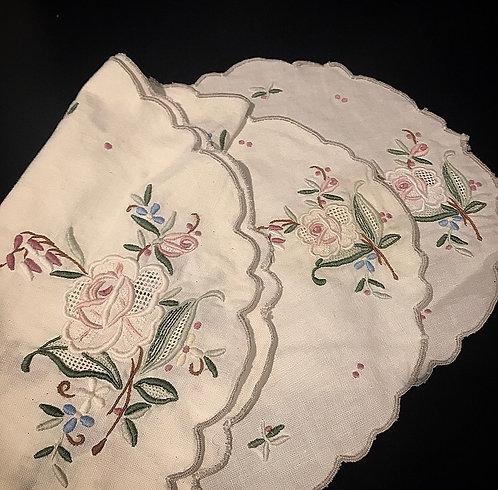 Embroidery x3 piece set