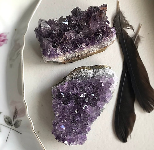 Large pieces of Amethyst