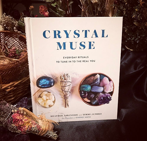 Crystal Muse  Book -New