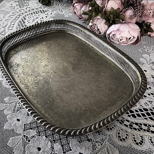 Rectangle Shaped Vintage Tray