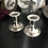 Thumbnail: Pair of Silver Plated Candlestick Holders 7x7cm
