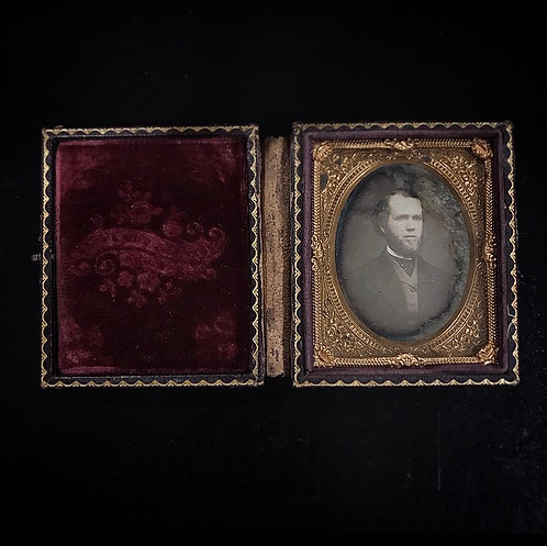 Victorian Gentleman Daguerreotype