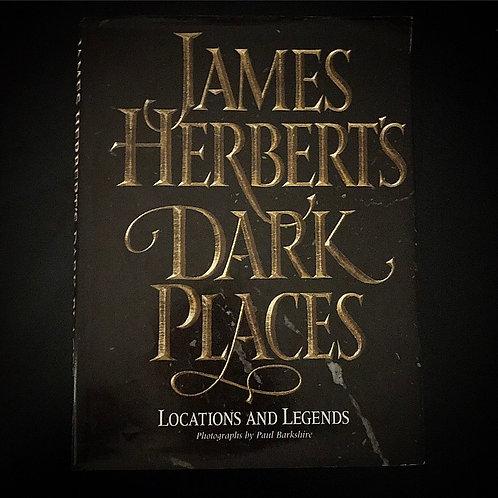 James Herbert's Dark Places ~ Photographic Hardcover Book