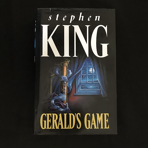 1992 Hardcover Edition of Stephen Kings Geralds Game