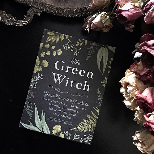 The Green Witch Hardcover Embossed Book ~ New