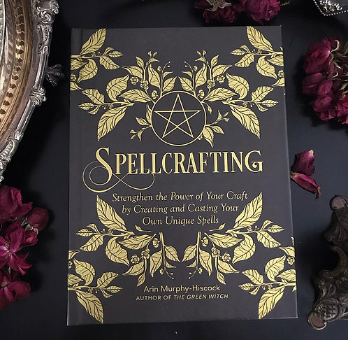 Spellcrafting Hardcover Embossed Book ~ New