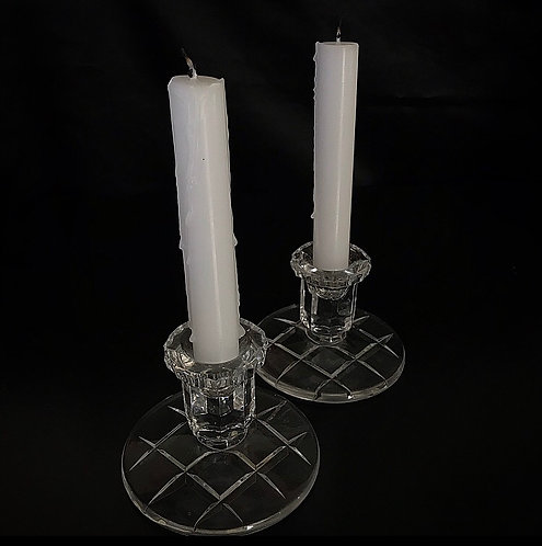 Crystal Lead Candle Holder