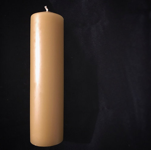 Large Beeswax Candle