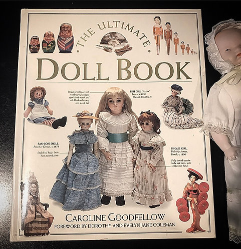 The Ultimate Doll Book ~Hardcover by Caroline Goodfellow