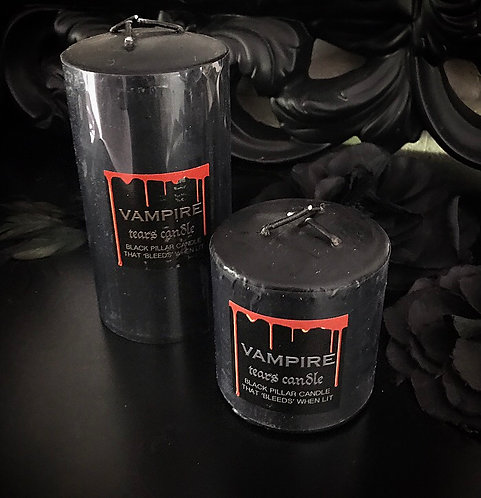 Vampire Tears Pillar Candles