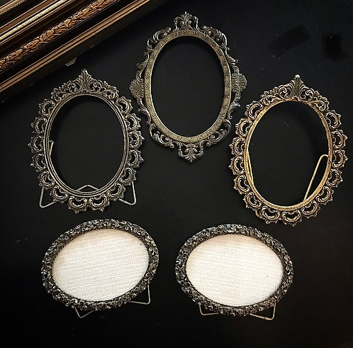 Ornate Brass Frames