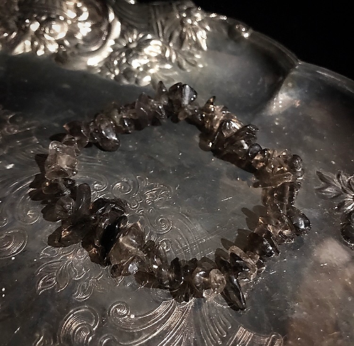 Smokey Quartz Grounding Bracelet