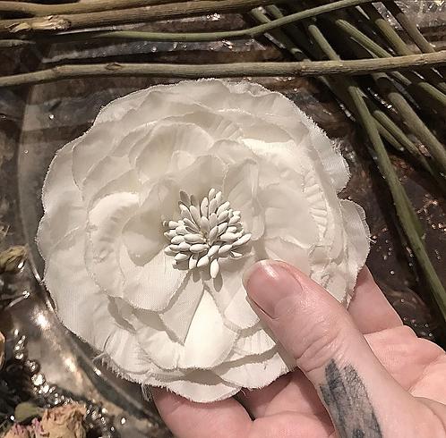 Antique Silk Flower #2