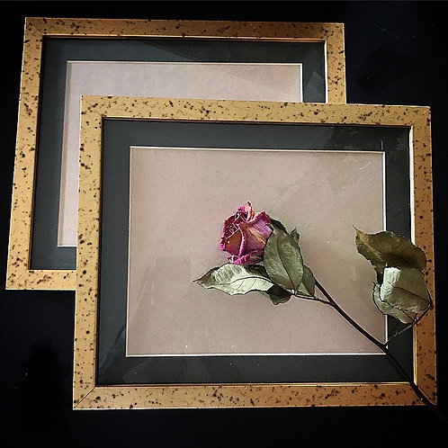 Gold Speckled Frame Box