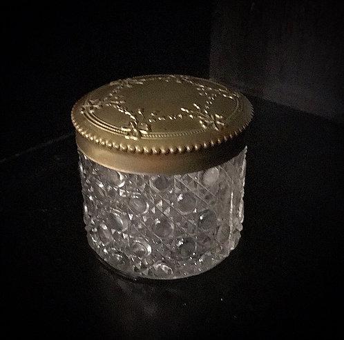 Brass & Glass Stash Jar