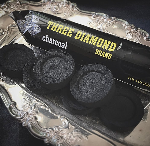 Three Diamond Charcoal