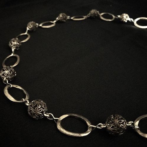Junk Metal Necklace