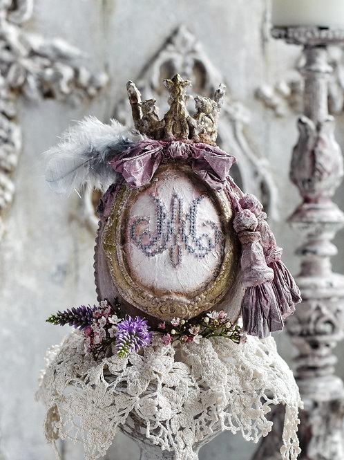 Marie Antoinette Egg with Monogram