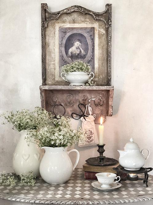 French Shelf with Hooks