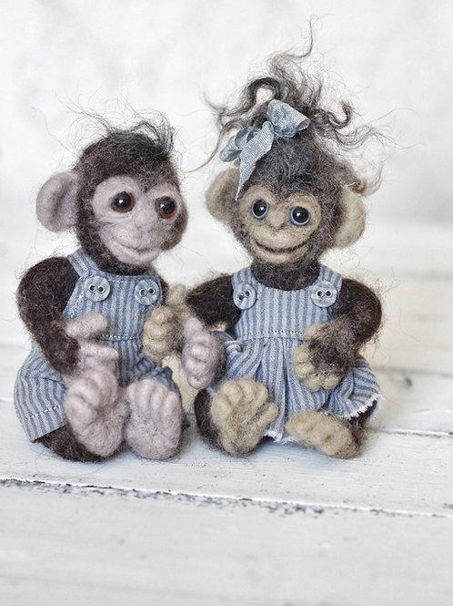 Monkeys Feecky & Meecky