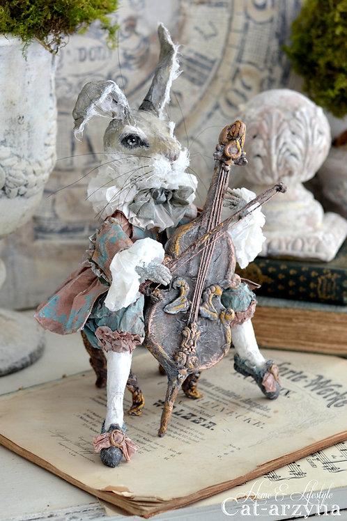 18th Century Cello Rabbit