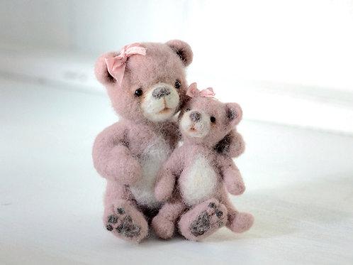 Pink Bears Rose & Mimi
