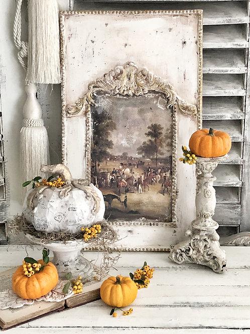 Antique decoration wall panel