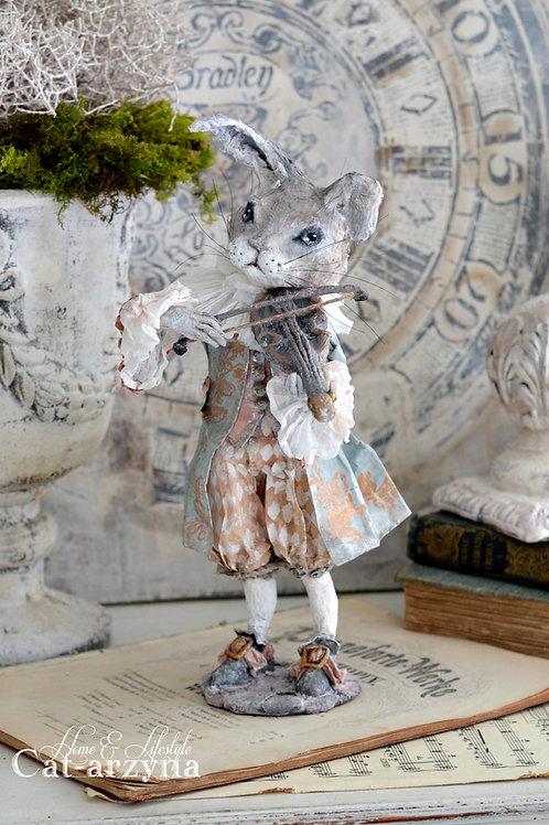 18th Century Rabbit Violinist