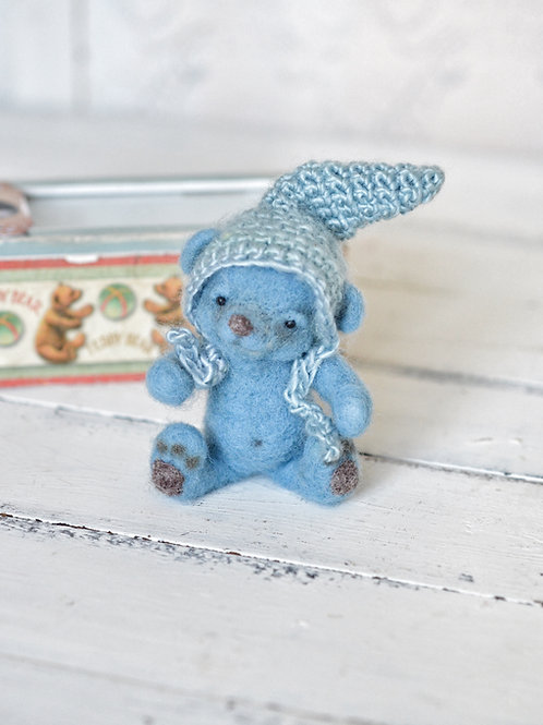 Tommy the little blue bear